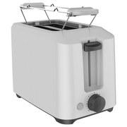 Toaster Niklas - Weiß, Basics, Kunststoff/Metall (25,7/14,6/24.2cm) - Bono