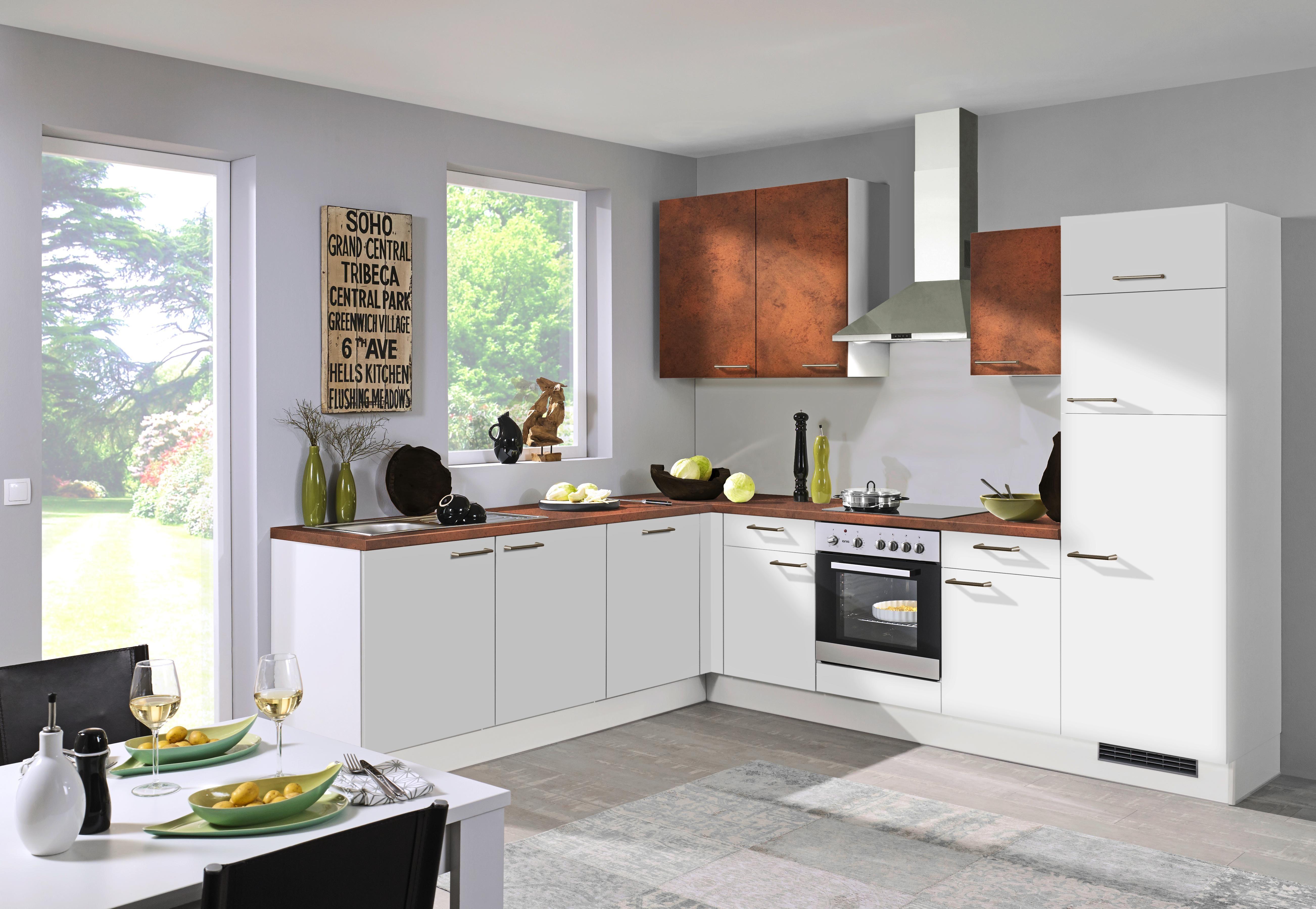 Vestavná Kuchyň Pn 80/310 - Basics (285/245cm)