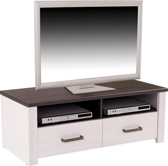 Tv - Elem Provence - fehér/wenge színű, romantikus/Landhaus, faanyagok (126,9/41,7/42cm) - JAMES WOOD