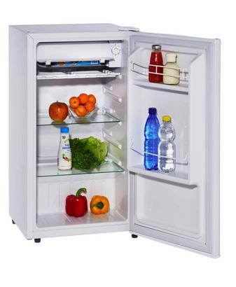 Kleiner Kühlschrank in Weiß