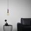 Závesná Lampa Ian, Ø/v: 8/124 Cm, 60 Watt - čierna/červená, Štýlový, kov (8/124cm) - Mömax modern living