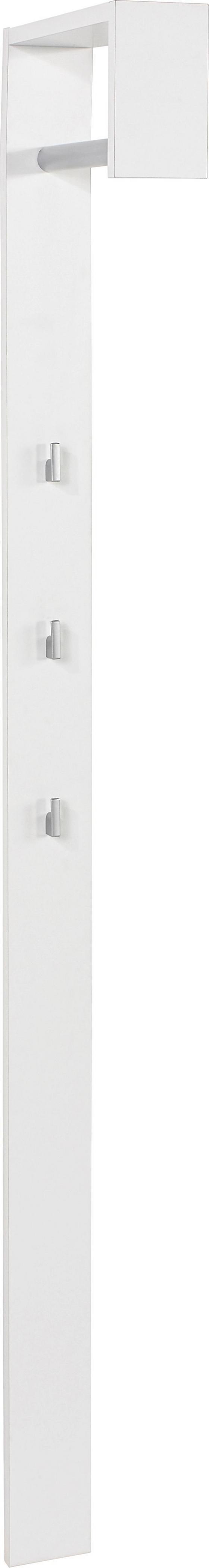 Šatní Panel Senex  *cenový Trhák* - bílá, Moderní, dřevo (10/170/33cm)