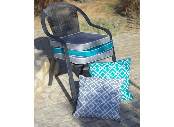 Zahradní Židle Sammy 3 - šedá/antracitová, kov/umělá hmota (56/89/64cm) - Mömax modern living