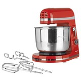 Küchenmaschine Gourmet Maxx 250 W Rot - Rot/Silberfarben, Basics, Kunststoff/Metall (30/19,5/28cm)