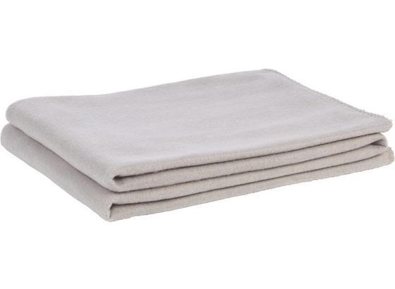 Fleecová Deka Trendix -top- - svetlosivá, textil (130/180cm) - Modern Living