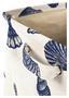 Wäschetonne Verena - Blau/Beige, MODERN, Textil (36/56/36cm)