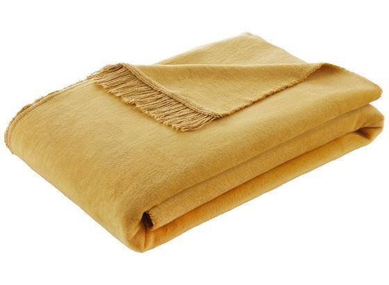 Prikrývka El Sol - žltá, textil (150/200cm) - Mömax modern living