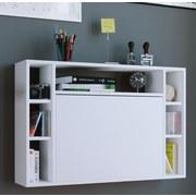 Laptoptisch Wandila B: 90 cm Weiß - Weiß, KONVENTIONELL, Holzwerkstoff (90/60/20cm) - MID.YOU