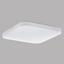 Led Deckenleuchte Frania 28x28 cm - Weiß, MODERN, Kunststoff/Metall (28/28/7cm)
