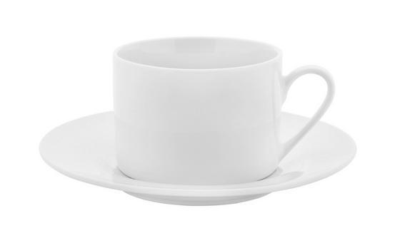 Šálek Na Kávu S Podšálkem Adria - bílá, Konvenční, keramika (15,8cm) - Mömax modern living