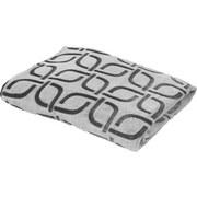 Kuscheldecke Divita - Weiß/Grau, KONVENTIONELL, Textil (150/200cm) - LUCA BESSONI