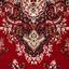 Webteppich Pierre 160x225 cm - Rot, KONVENTIONELL, Textil (160/225cm)