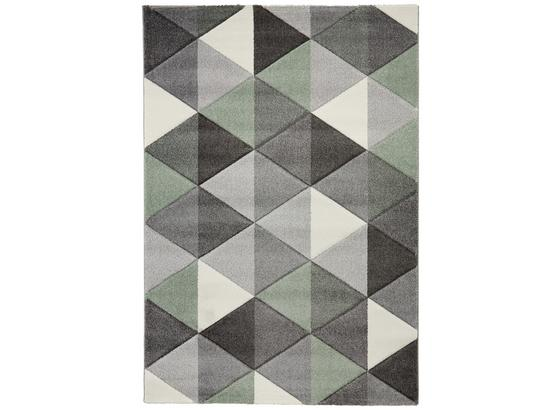 Tkaný Koberec Rom 2 - sivá/zelená, textil (120/170cm) - Mömax modern living