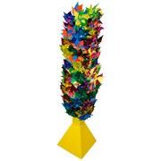 Windrad Verschiedene Modelle - Multicolor, KONVENTIONELL, Papier/Kunststoff (21cm)