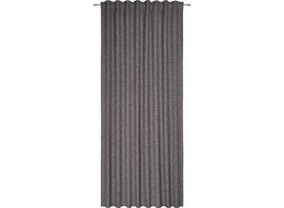 Záves Leo -top- - sivá, textil (135/255cm) - Premium Living