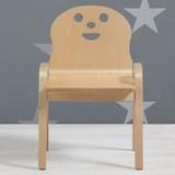 Dětská Židle Sunny - barva břízy, Moderní, dřevo (34/59/39cm) - MÖMAX modern living