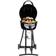 Barbecue-Grill BBQ Star 2-In-1 2000 W 52,2x100x60 - Schwarz, MODERN, Metall (60/52,5/100cm)
