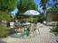 Záhradná Sada Columbia - biela/farby agátu, kov/drevo (//null) - Mömax modern living