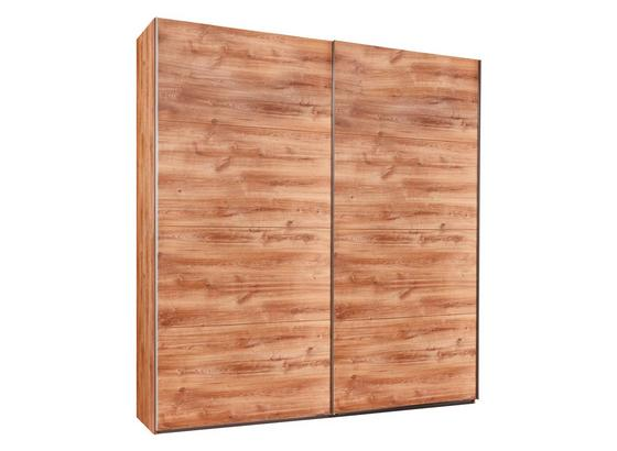 Šatní Skříň London - barvy dubu, Moderní, kompozitní dřevo (225/210/64cm)