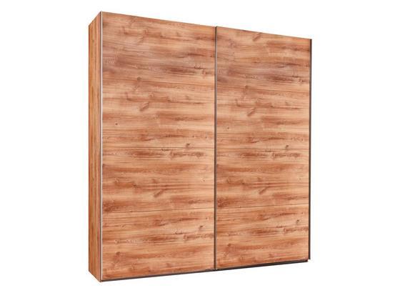 Šatníková Skriňa London - farby dubu, Moderný, kompozitné drevo (225/210/64cm)