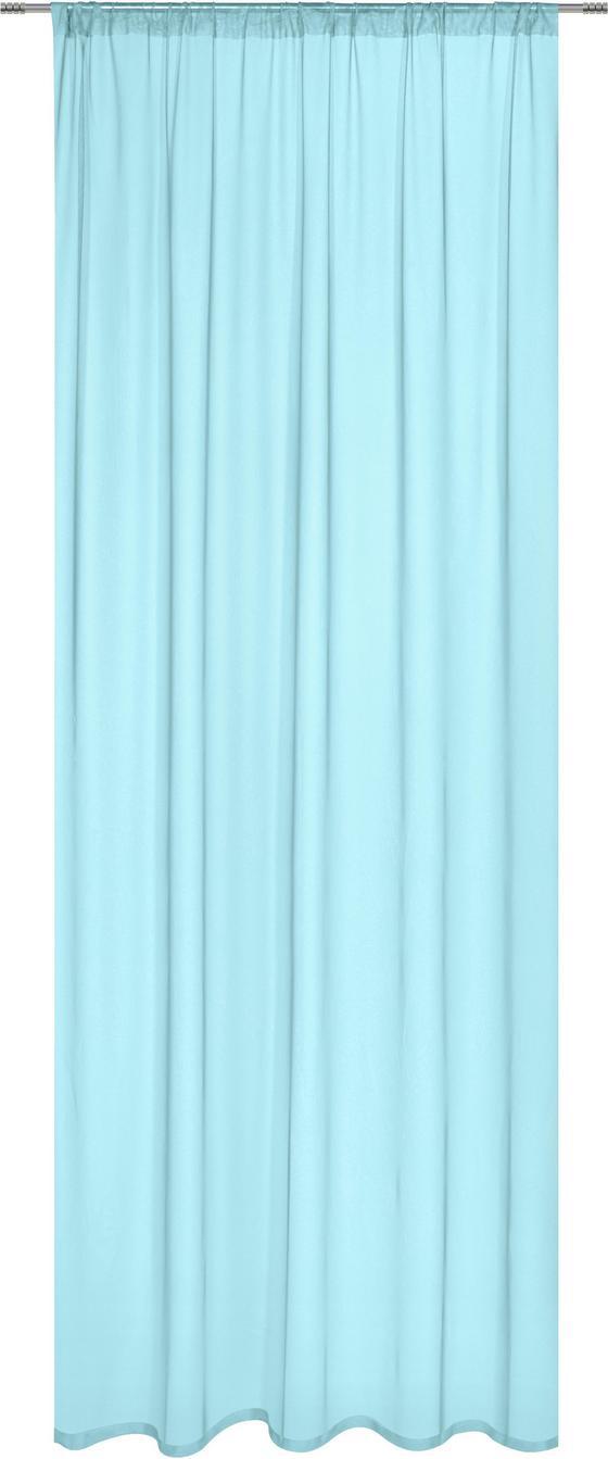 Závěs Thea - mátově zelená, Romantický / Rustikální, textil (145/245cm) - Mömax modern living