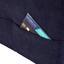 Wohnlandschaft Livorno - Blau/Schwarz, MODERN, Textil (238/165cm) - Ombra