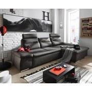 Wohnlandschaft Dijon ca. 268x170 cm - Silberfarben/Grau, KONVENTIONELL, Holzwerkstoff/Textil (268/170cm) - Carryhome