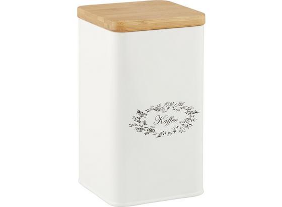 Box S Víkem Lore - bílá, Romantický / Rustikální, kov/dřevo (11,5/11,5/19cm) - Zandiara