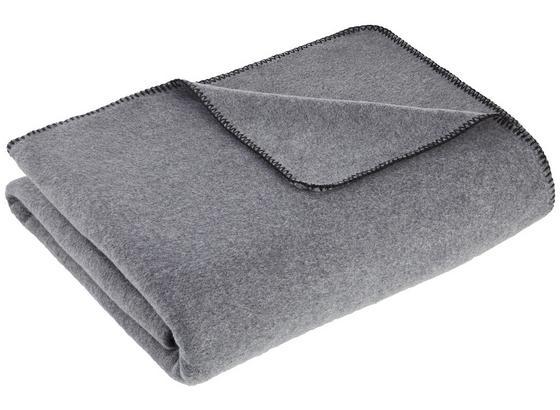 Měkká Deka Fay - šedá, Moderní, textil (150/200cm) - Mömax modern living