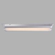 Led Deckenleuchte Vancouver L: 60 cm - Silberfarben, MODERN, Kunststoff/Metall (60/12,5/5,1cm)
