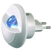 LED-Nachtlicht D/H: ca. 7,5x7,5x8,5cm - Weiß, MODERN, Kunststoff (7,5/8,5cm)