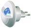 LED-nachtlicht Rx2608 - Weiß, MODERN, Kunststoff (7,5/8,5cm)