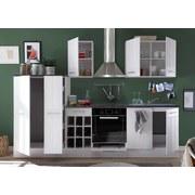 Kuchynská Linka Country - biela, Moderný, drevený materiál (285/206/60cm)