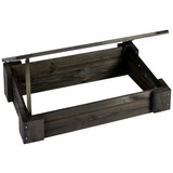 Hochbeet/Frühbeet Spring LxBxH: 45x41,5x24 cm - Anthrazit, MODERN, Holz (45/41,5/24cm) - James Wood