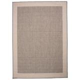 Flachwebeteppich Brüssel 140/200 - Grau, MODERN, Textil (140/200cm)