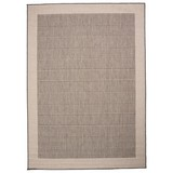 Flachwebeteppich Brüssel 200/290 - Grau, MODERN, Textil (200/290cm)