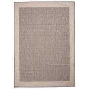Flachwebeteppich Brüssel 60/110 - Grau, MODERN, Textil (60/110cm)