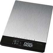 Küchenwaage Kw 3416 - Silberfarben/Schwarz, MODERN, Metall (16/1,8/23cm) - Clatronic