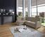 Wohnlandschaft in L-Form Sonoma 176x246 cm - Chromfarben/Beige, KONVENTIONELL, Textil (176/246cm) - Ombra