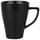 Hrnek Na Kávu Nele - černá, Moderní, keramika (8,5/11cm) - Premium Living