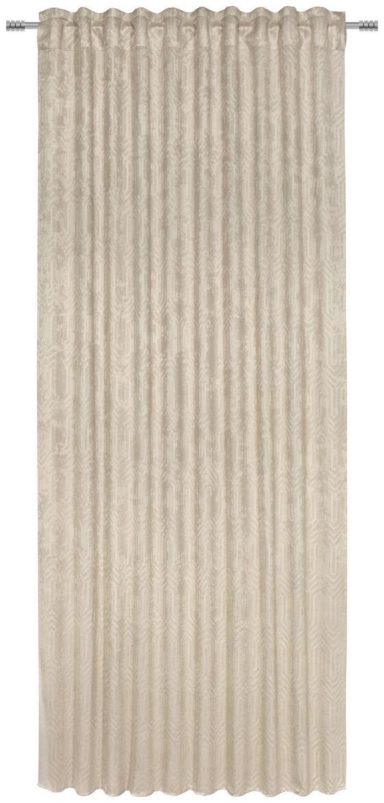 Fertigvorhang Bianca - Beige, ROMANTIK / LANDHAUS, Textil (140/245cm) - James Wood