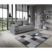 Schlafsofa Clipso B: 212 cm - Grau, Basics, Textil (212/93/90cm) - Ombra