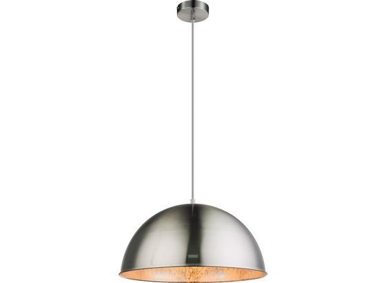 Hängeleuchte Sabi - Silberfarben, MODERN, Metall (41/120cm)