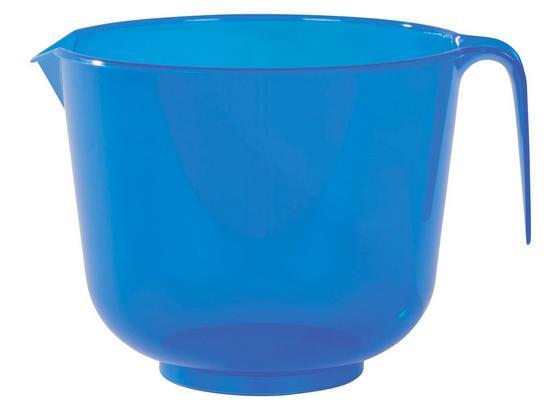 Rührschüssel Sortiert - Blau/Rot, KONVENTIONELL, Kunststoff (17.5/14.8cm)