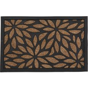 Fußmatte Albertina 40x60 cm - Beige/Schwarz, MODERN, Kunststoff (40/60cm) - Ombra