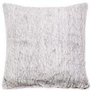 Zierkissen Jetta - Silberfarben, MODERN, Textil (40/40cm) - Luca Bessoni