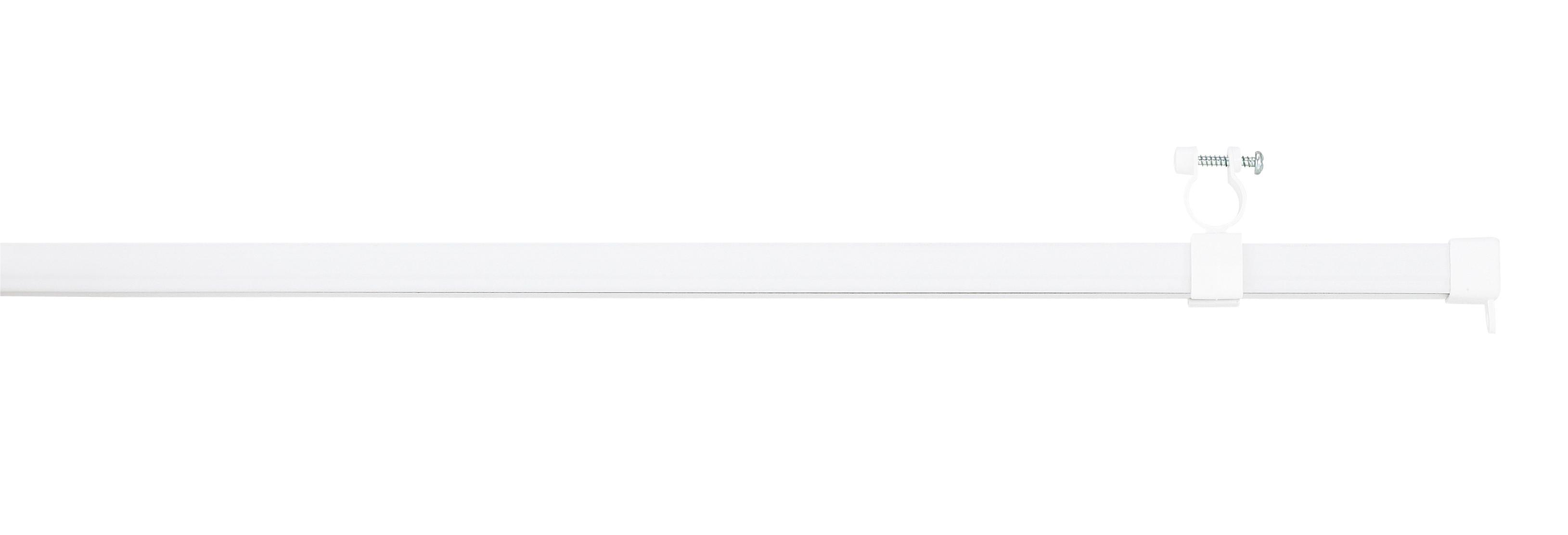 U-függönysín Sb4700/350/180 - fehér, konvencionális, fém (180cm)