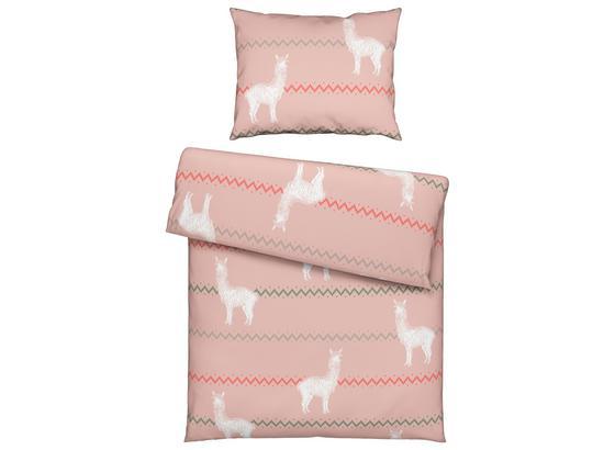 Povlečení Peru - růžová, textil (140/200cm) - Mömax modern living