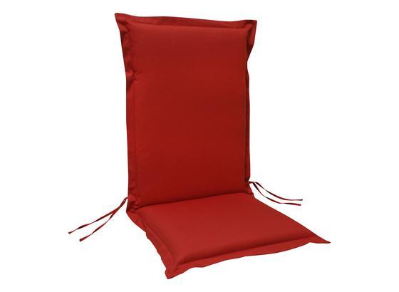 Sesselauflagenset Premium T: 120 cm Rot - Rot, Basics, Textil (50/8-9/120cm) - Ambia Garden