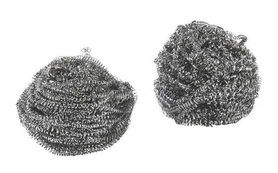 Szivacs Rozsdamentes Fém - Ezüst, konvencionális, Fém (5cm)